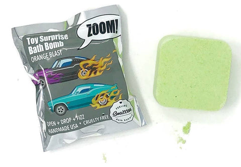 Feeling Smitten Zoom Zoom Car Surprise Bath Bomb