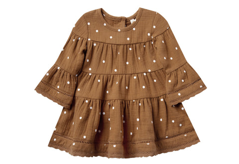 Quincy Mae  Walnut Belle Dress