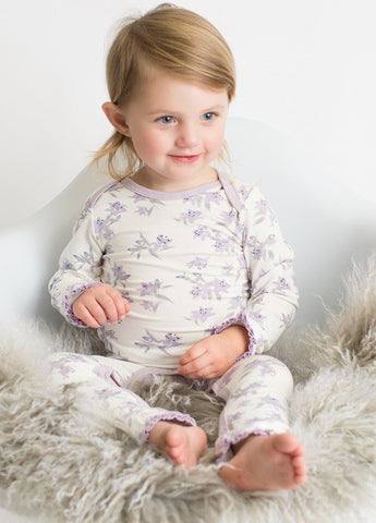 Bestaroo Lavender Lily's Coverall - Basically Bows & Bowties
