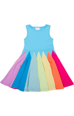 Lemon Loves Lime Rainbow Twirl Dress