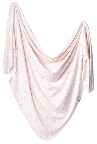 Copper Pearl Lola Knit Swaddle Blanket