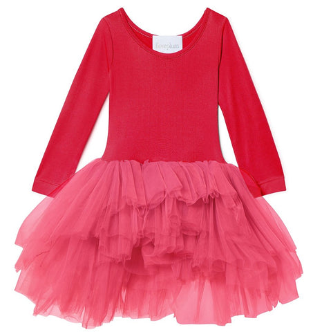 iloveplum Camilla Red Long Sleeve Tutu
