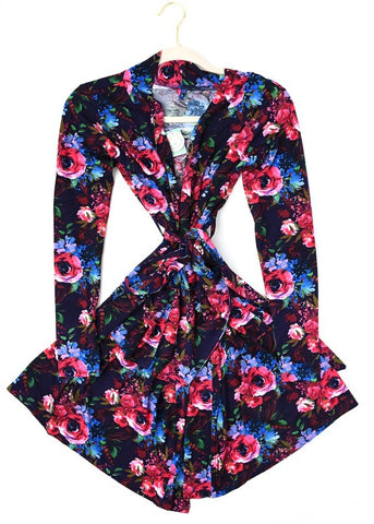 Gigi and Max Gabriella Floral Mommy Robe