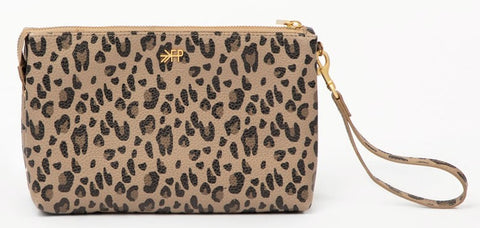 Freshly Picked Leopard Classic Zip Pouch