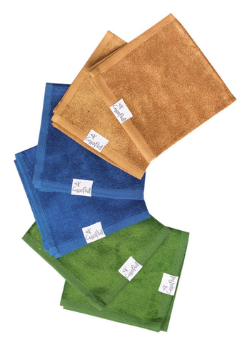 Copper Pearl River Washcloths (Pack of 6)