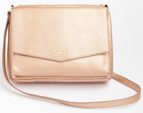 Freshly Picked Rose Gold Classic Crossbody Basically Bows & Bowties
