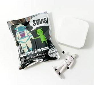 Feeling Smitten Astronaut Surprise Bath Bomb Bag