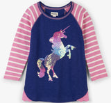 Hatley Playful Unicorn Raglan Tee - Basically Bows & Bowties