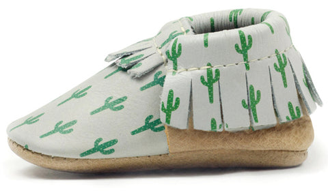 Freshly Picked Cactus Moccasins - Basically Bows & Bowties