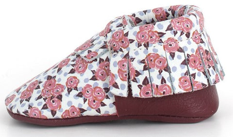Freshly Picked Garden Roses Moccasins - Basically Bows & Bowties