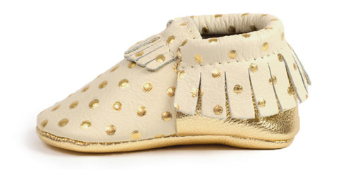 Freshly Picked Heirloom Moccasins-Cream - Basically Bows & Bowties