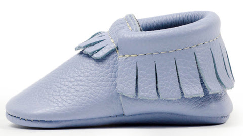Freshly Picked Iced Lavender Moccasins - Basically Bows & Bowties