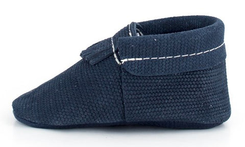 Freshly Picked Knit Navy City Moccassin - Basically Bows & Bowties