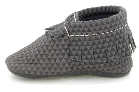 Freshly Picked Grey Triangle Moccassins