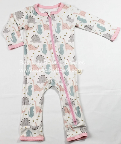 Kozi & Co Pink Dino Coverall
