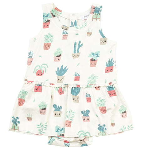 Angel Dear Happy Houseplant Bodysuit with Skirt