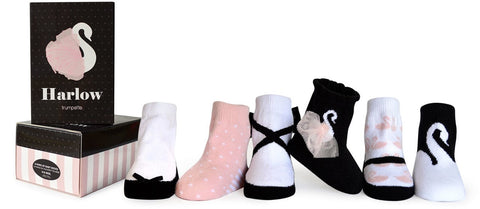 Trumpette Harlow Sock Set Basically Bows & Bowties