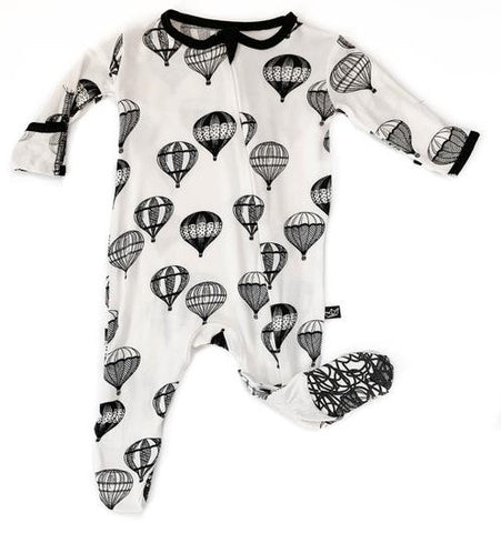 Peregrine Kidswear Hot Air Balloon Footie