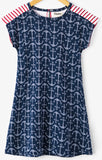 Hatley Seashells Anchor A-Line Dress - Basically Bows & Bowties