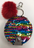 Bari Lynn Reversible Sequin Mirror Keychain - Basically Bows & Bowties