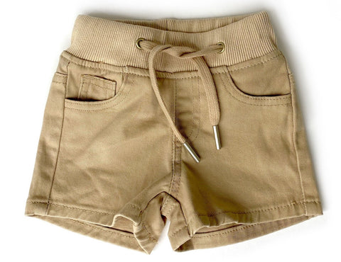 Little Bipsy Beige Chino Shorts