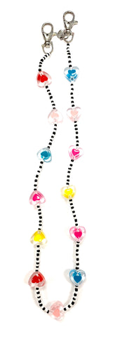 Bari Lynn Mask / Face Cover Necklace - Beads (7 Styles)