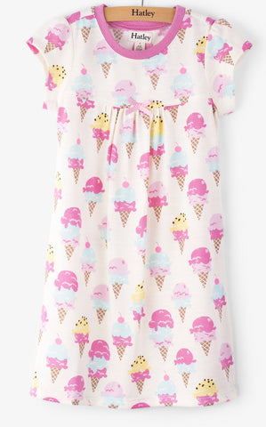 Hatley Ice Cream Treats Nightgown - Basically Bows & Bowties