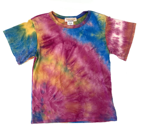 Tweenstyle by Stoopher Rainbow Tie Dye Tee
