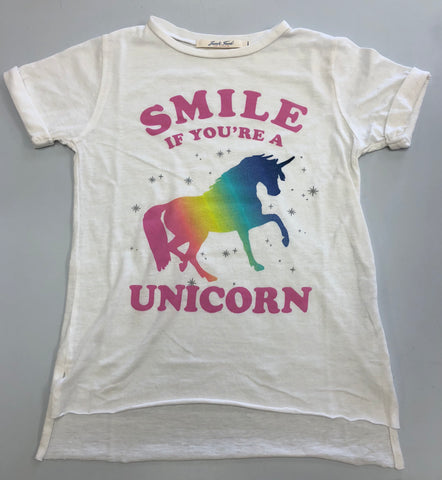 Junk Food Smile If You're A Unicorn Tee