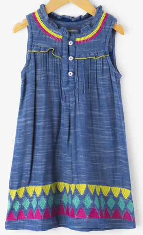 Hatley Rainfall Chambray Dress
