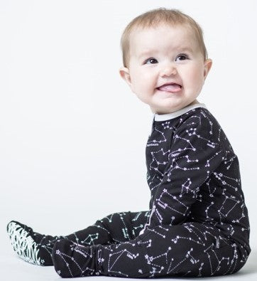 Peregrine Kidswear Constellations Footie