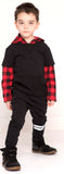 Kapital K Buffalo Plaid Fleece Hooded Shirt - Basically Bows & Bowties