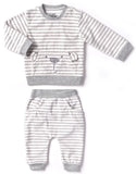 Kapital K Polar Bear Stripe Fleece 2pc Set - Basically Bows & Bowties