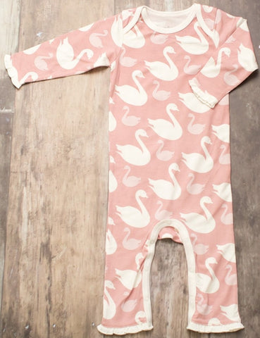 Bestaroo Swan Coverall - Basically Bows & Bowties