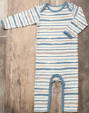 Bestaroo Blue Stripes Coverall - Basically Bows & Bowties