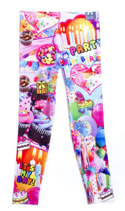 Malibu Sugar It's My Birthday Leggings - Basically Bows & Bowties
