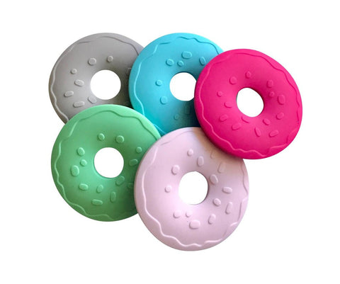 Little Teether Donut Silicone Teething Toy