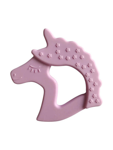 Lilac Little Teether Unicorn Silicone Teething Toy