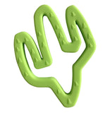 Lime Little Teether Cactus Silicone Teething Toy