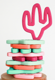 Little Teether Cactus Silicone Teething Toy