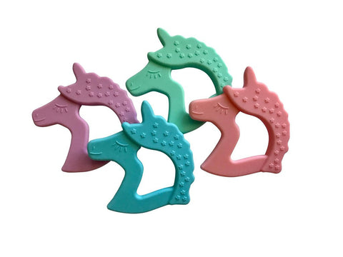 Little Teether Unicorn Silicone Teething Toy