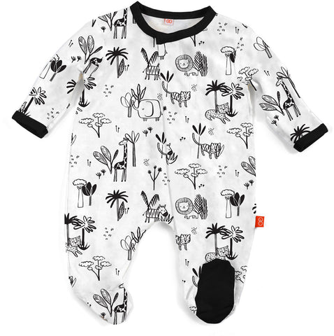 e2e118b75 Magnetic Me by Magnificent Baby Animal Safari Modal Magnetic Footie