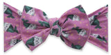 Baby Bling Kitty Magic Printed Knot Headband Basically Bows & Bowties