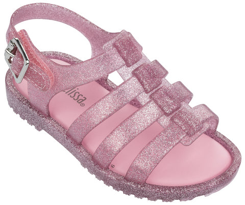 Mini Melissa Mini Flox-Pink Candy Glitter