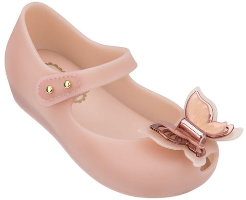 Mini Melissa Ultragirl Fly-Light Pink - Basically Bows & Bowties