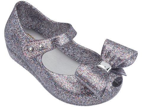 Mini Melissa Multicolor Glitter Ultragirl Bow III