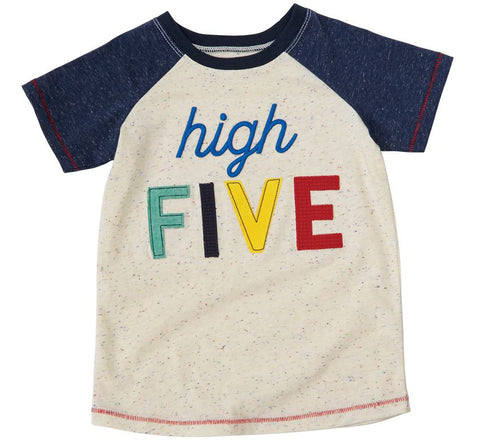 Mud Pie 5th Birthday Shirt High Five