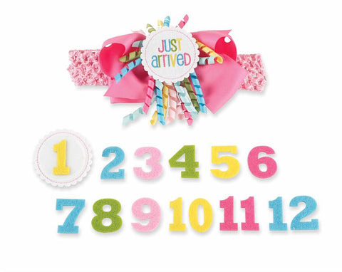 Mud Pie Monthly Milestone Headband