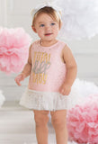 Mud Pie Total Doll Baby Dress & Bloomer Set - Basically Bows & Bowties