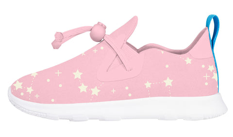 Native Apollo Moc Princess Pink Shell White Glow in the Dark Star
